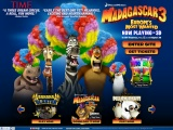 マダガスカル3 (Madagascar 3: Europe's Most Wanted) 壁紙